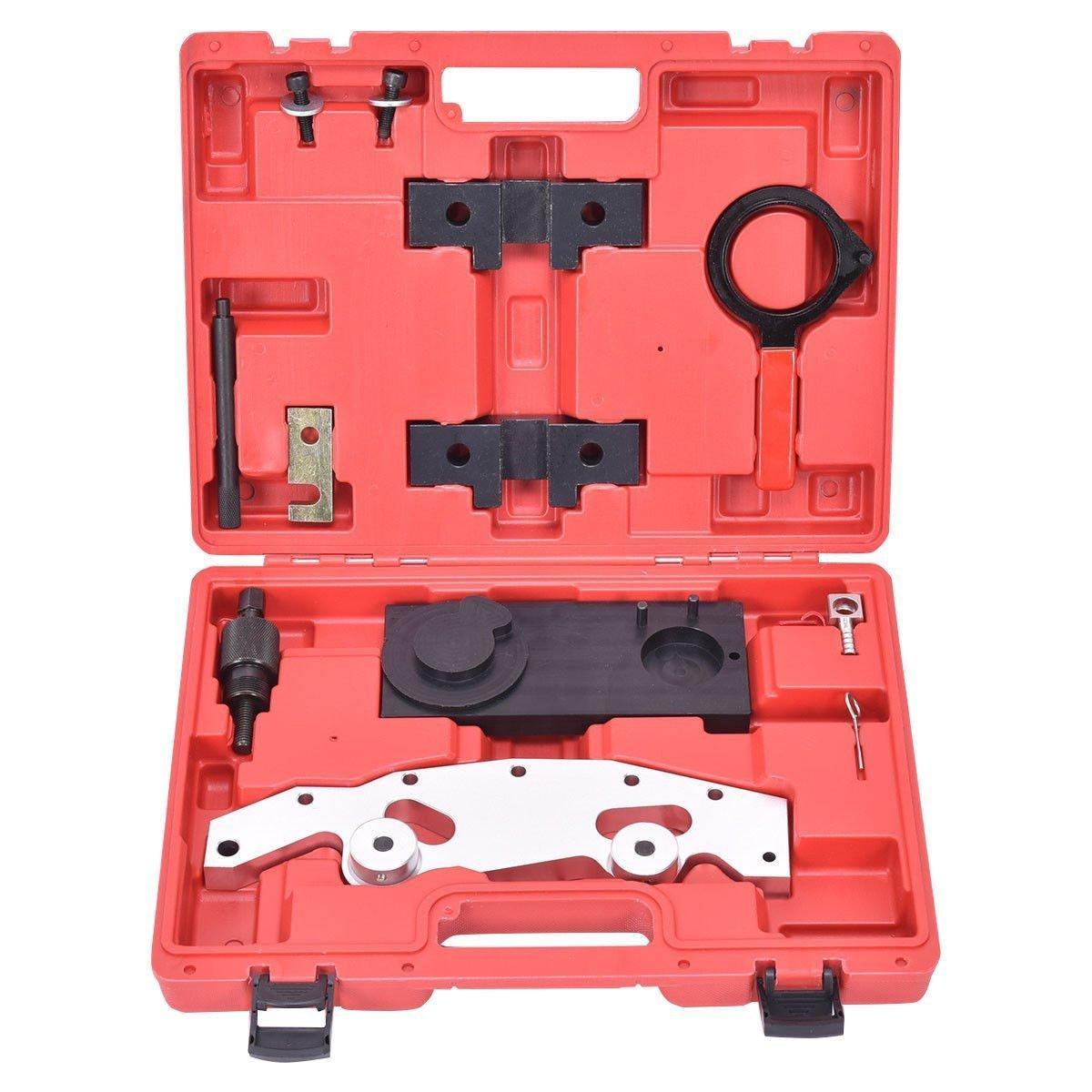 Goplus Camshaft Alignment Timing Tool Kit w/ Double Vanos For BMW M52TU M54 M56