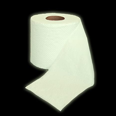 Amazon.com: Thumbs Up! Glow in The Dark Toilet Paper: Home & Kitchen
