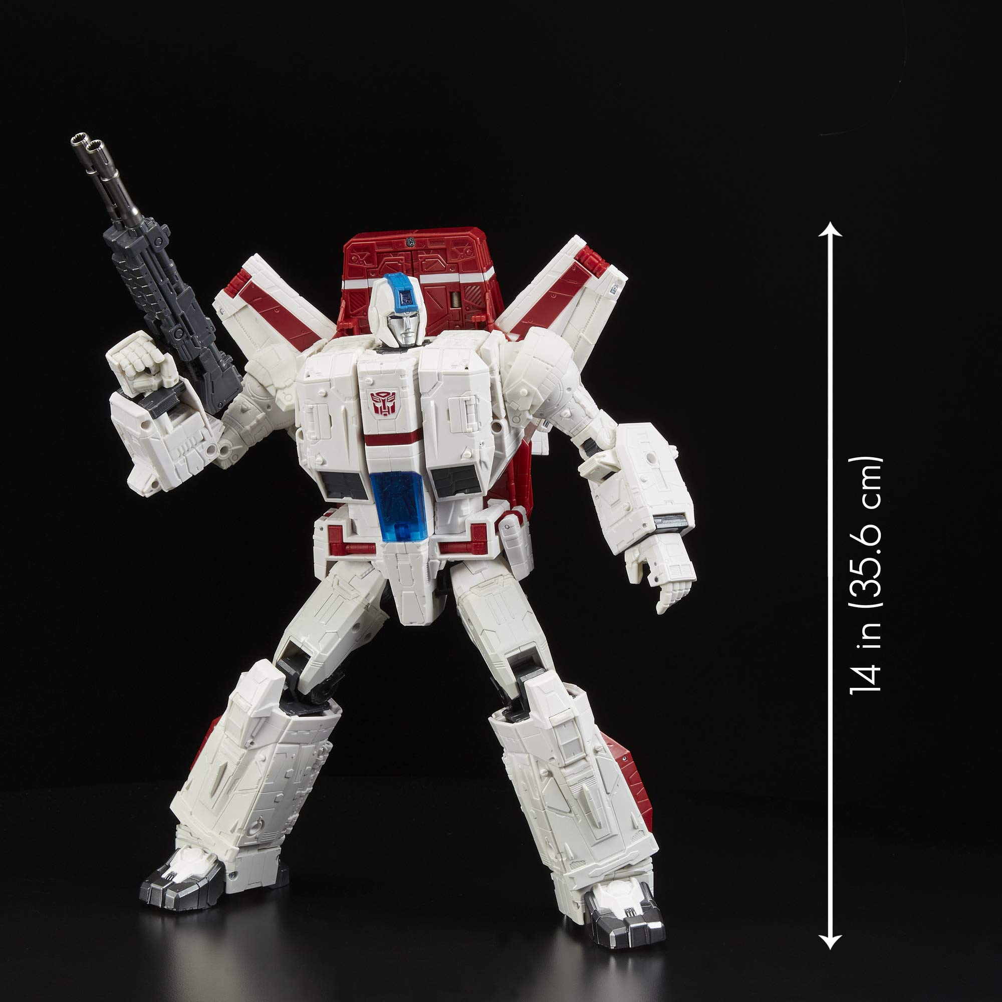 Transformers Toys Generations War for Cybertron Commander Wfc-S28 Jetfire Action Figure - Siege Chapter - Adults & Kids Ages 8 & Up, 11'' by Transformers (Image #5)