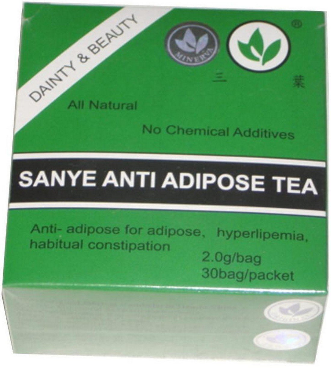 SANYE ANTI-ADIPOSE TEA & Detoxifying Laxative & Cleansing action - 30 tea bags!!!TOP PRODUCT
