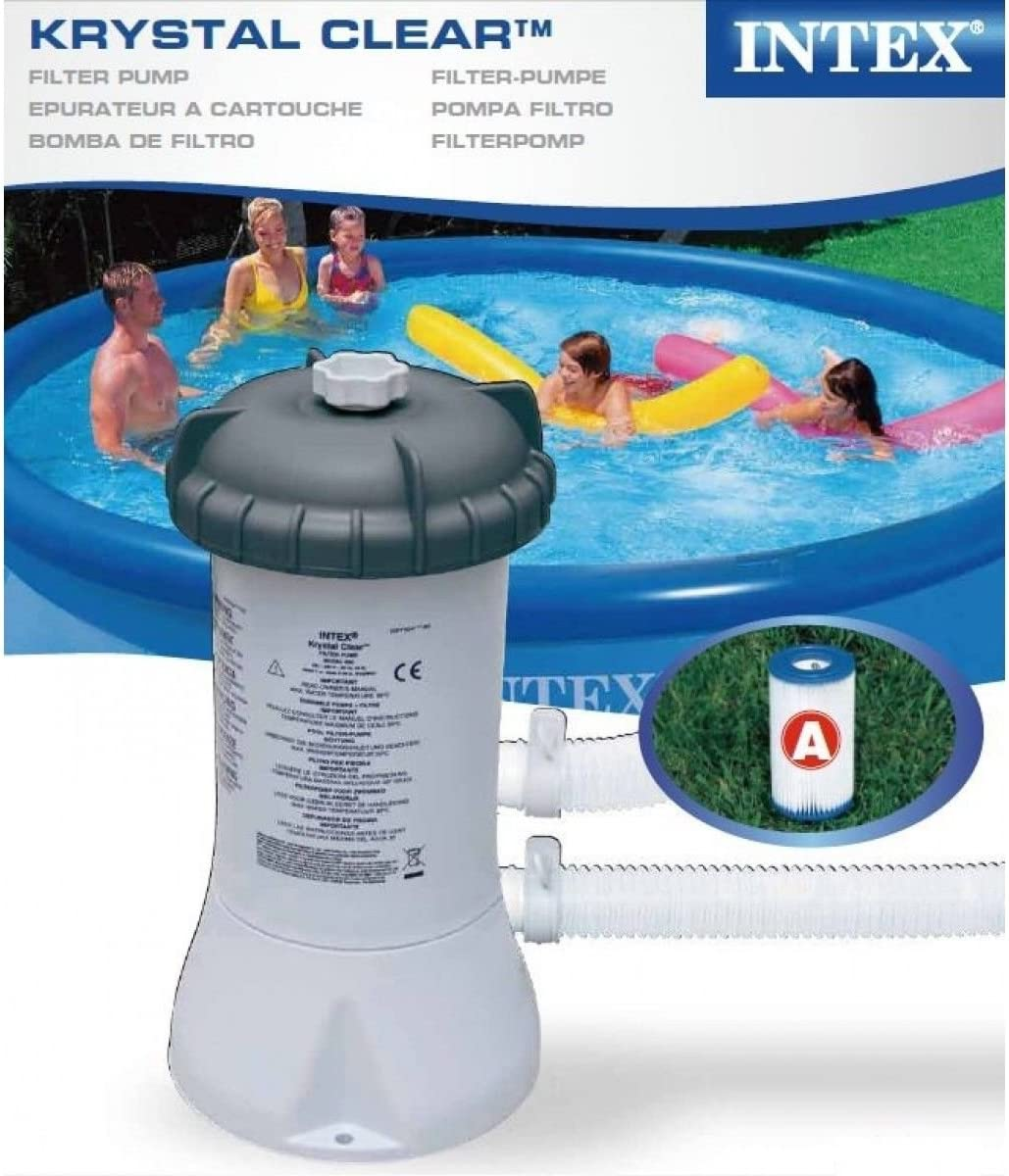 Depuradora Piscinas Krystal Clear Intex: Amazon.es: Hogar