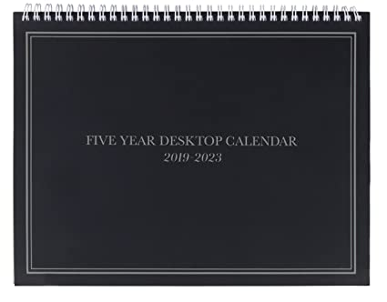 2019 2023 five year planner monthly schedule organizer agenda planner for the next five years 60 months calendar appointment notebook monthly cover 2019 2020 calendar planner volume 6