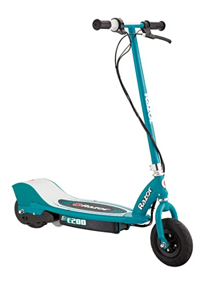 Amazon Com Razor E200 Electric Scooter Teal Sports Outdoors