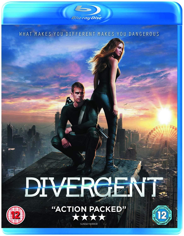Amazon Com Divergent Blu Ray 2014 Movies Tv