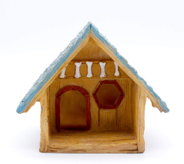 Fairy Garden Accessories - Miniature Fairy Garden Figurines, Tools, Supplies, Animals, and Mini Furniture for Fairy Gardens (Dog House)