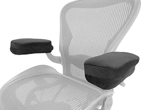 replacement office chair armrest arm pads set of 2 s2724 1 kitchen home. Black Bedroom Furniture Sets. Home Design Ideas