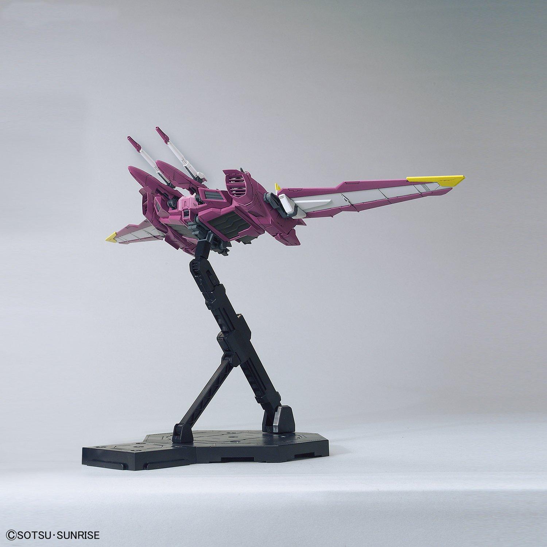 Multi-Colored Bandai Hobby BAN216382 Justice Gundam Seed Bandai MG Hobby Figure 8 Inches