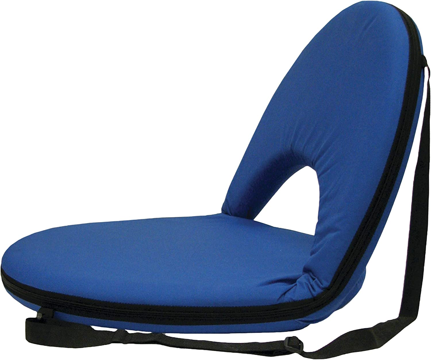 STANSPORT – Go Anywhere Multi-fold Comfy Padded Floor Chair With Back Support