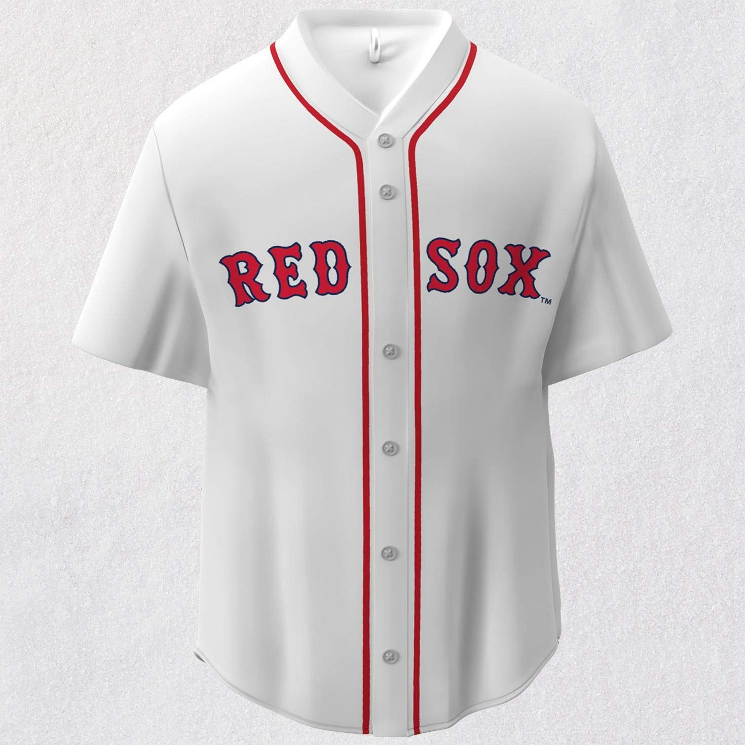 6e4949bf8 Amazon.com: Hallmark MLB Boston Red Sox Jersey Keepsake Christmas Ornaments:  Home & Kitchen