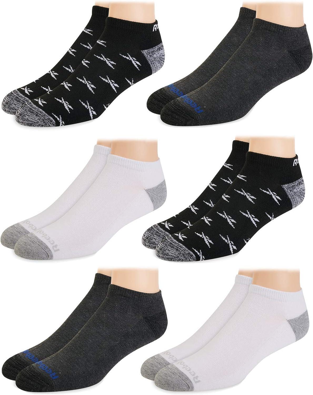 Low Cut Basic Cushion Socks (6 Pack