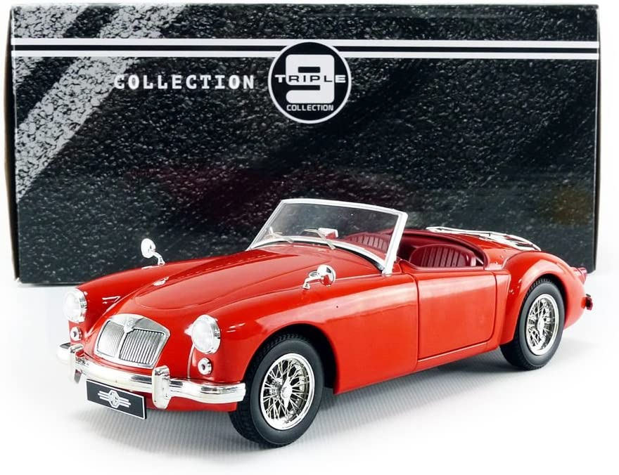 Black//Red Triple 9 T9-1800210 Collectible Miniature Car