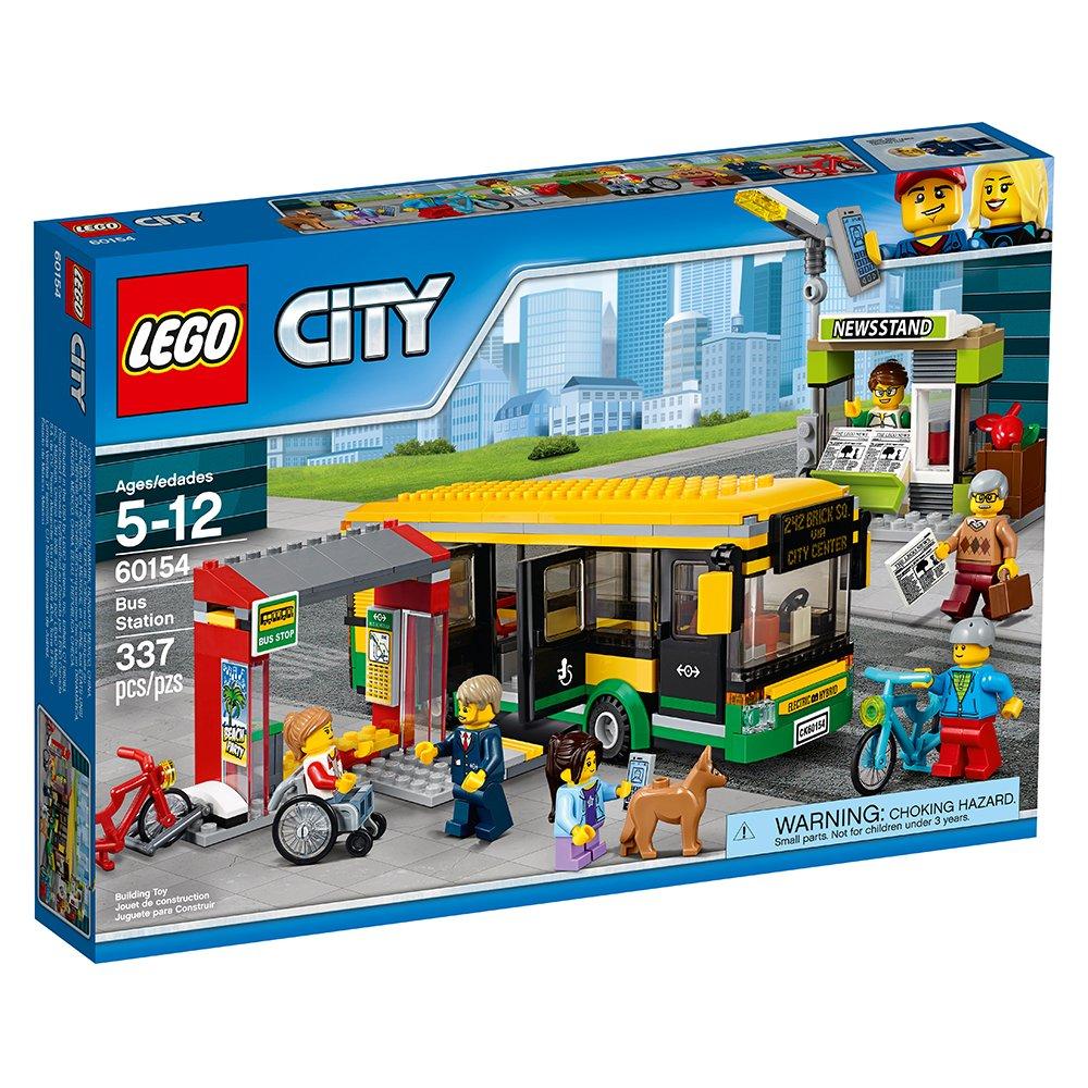LEGO Ciudad de la Ciudad estación de autobuses Kit 60154 Edificio (337 Piezas): Amazon.es: Juguetes y juegos