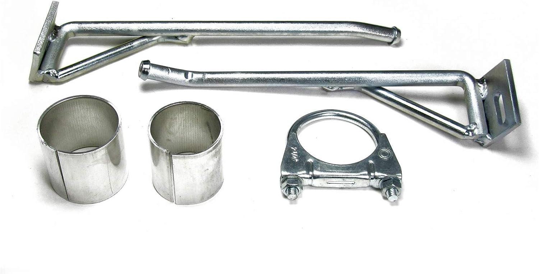JOM 89050 Stahl-Endschalld/ämpfer mit oval DTM-Look Endrohr