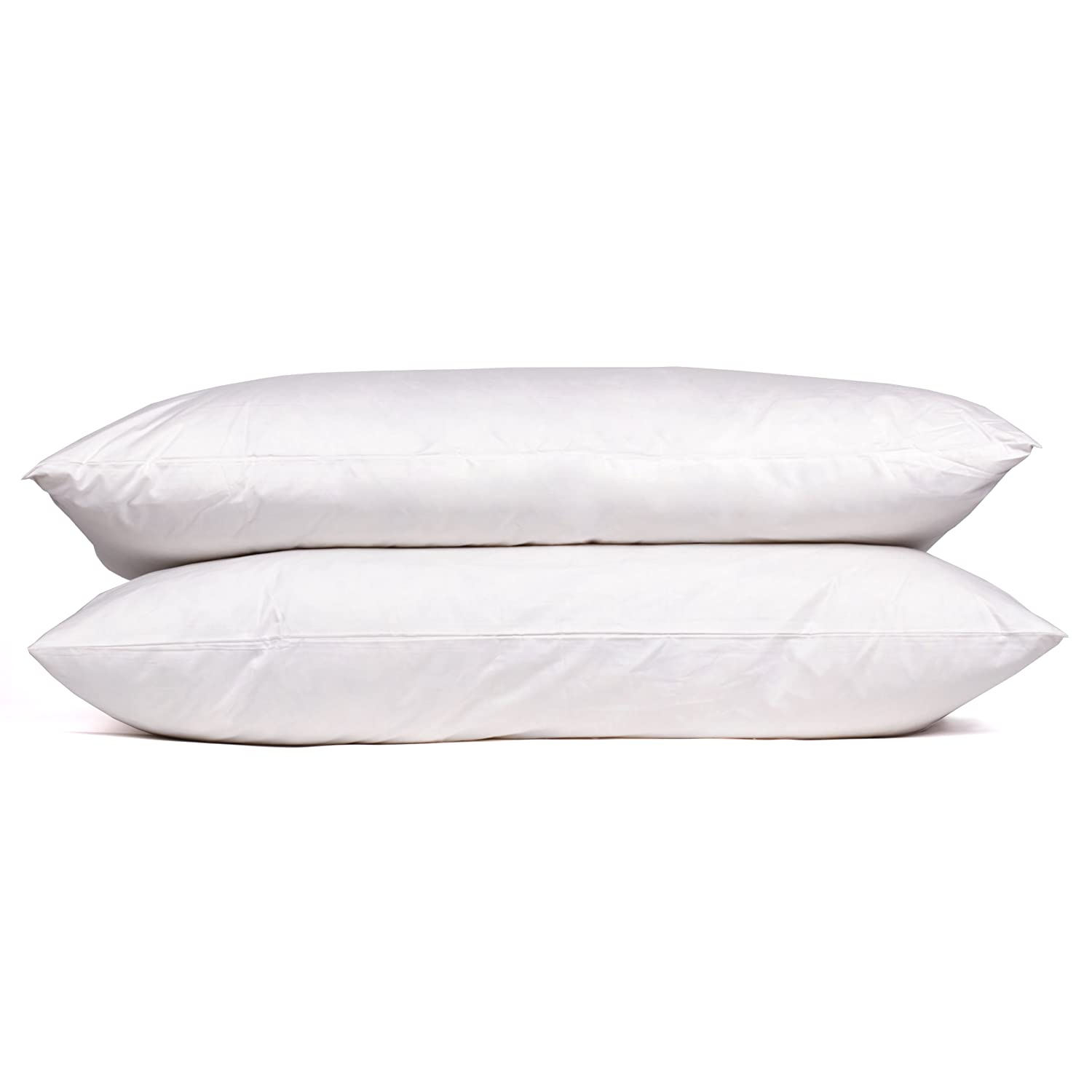 Sweet Home Collection Goose Down and Feather 400 Thread Count Premium Bed Pillow, King