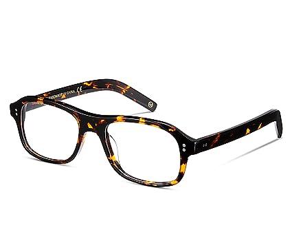 a8a67f2532 EyeGlow Eyeglasses Frame Prescription Glasses Frame for Men Women 52mm  Kingsman Glasses Same Model (Tortoise)  Amazon.co.uk  Clothing