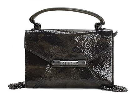 in vendita eab9f 0288a DIESEL - Portafoglio da donna in pelle, con catena, colore ...