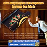 Magnetic Dart Board Set, Rabosky Double Sided