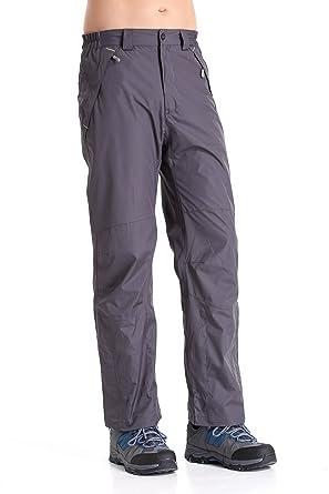 ea6ded8b Clothin Hombre Nieve Pantalones/Pantalones de esquí con Forro  Polar/Resistente al Agua