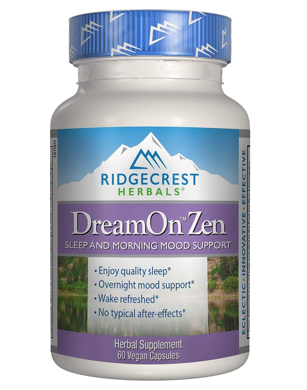 RidgeCrest Herbals DreamOn Zen, 60 Vegetarian Capsules