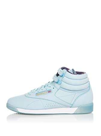 d4be7a85bfd Reebok Women s Hightop Sneaker 9.5  Amazon.co.uk  Shoes   Bags