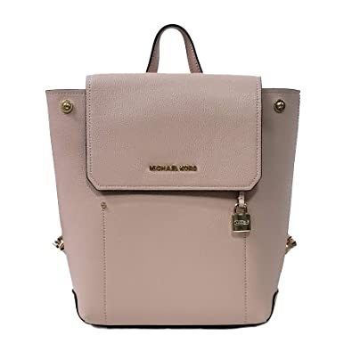 577d624e6f4a Amazon.com: Michael Kors Hayes MD Backpack Leather Pink Ballet  (35F8GYEB2T): Shoes