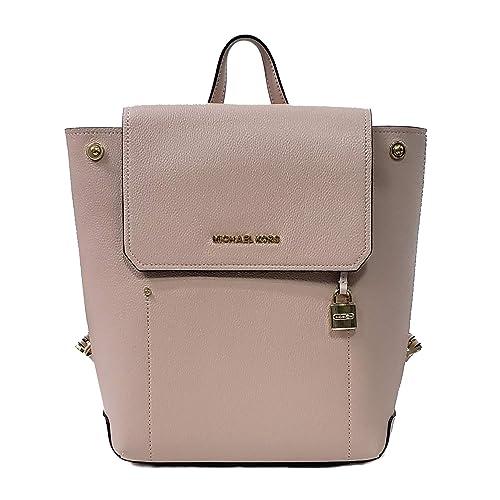 b8dfb4991603 Michael Kors Hayes MD Backpack Leather Pink Ballet (35F8GYEB2T ...