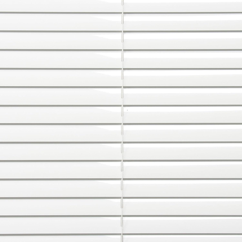 wei/ß Montage ohne Bohren Aluminiumjalousie Liedeco Klemmfix-Jalousie B 90 cm x H 130 cm