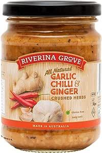 Riverina Grove Garlic Chilli Ginger Sauce 240 g