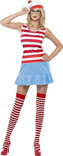 Smiffys - Disfraz de Wally para mujer, talla XS (25745XS): Amazon ...