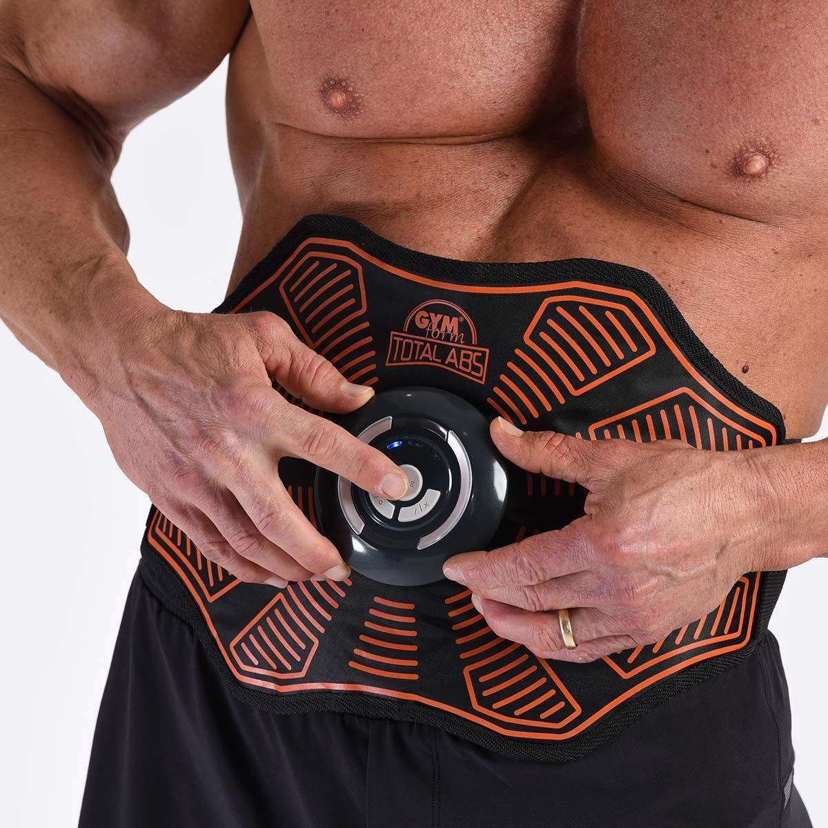 38a26950828 Gymform Total ABS - Ceinture d électrostimulation  Amazon.fr  Sports et  Loisirs
