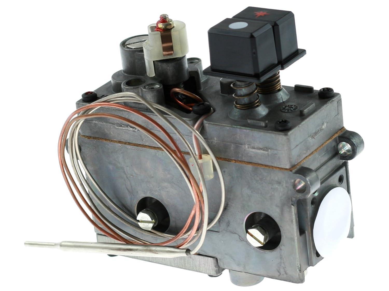 Válvula de gas MINISIT 710 0.710.750 termostato para freidora 50 - 190 °C Zanussi 026824: Amazon.es: Industria, empresas y ciencia