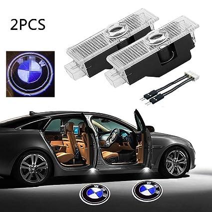 niceeshop - Faro proyector LED para puerta de coche, 2 unidades ...