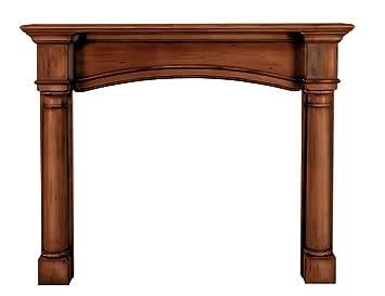 Amazon.com: Pearl Mantels 159-48-70 Princeton Fireplace Mantel ...
