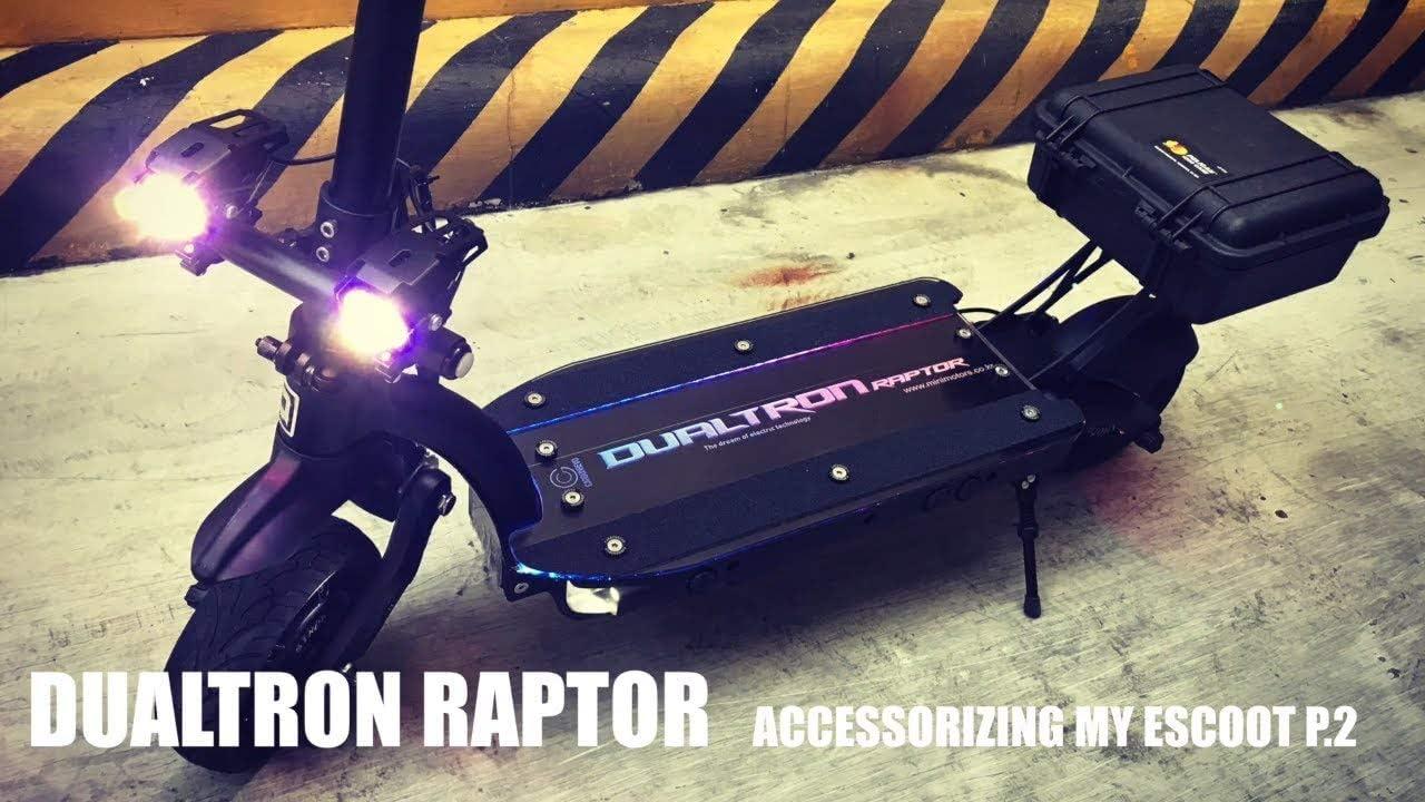 Amazon.com: Dualtron Raptor - Patinete eléctrico plegable ...