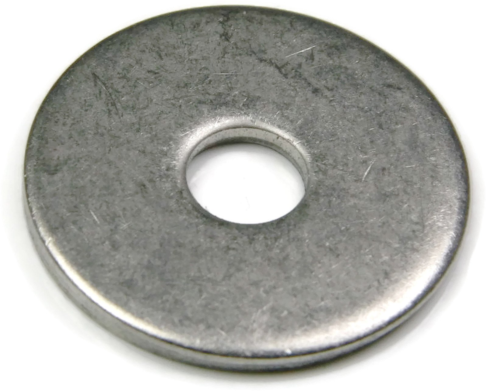 Extra Thick Fender Washers 18-8 Stainless Steel Washers - Pack of 250 Pieces (3/8'' x 1-1/2'' OD)