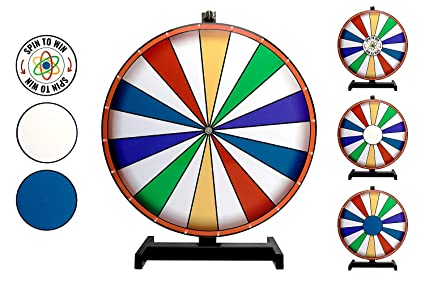 Amazoncom Dalton Labs Spinning Prize Wheel Of Fortune 18 Spin