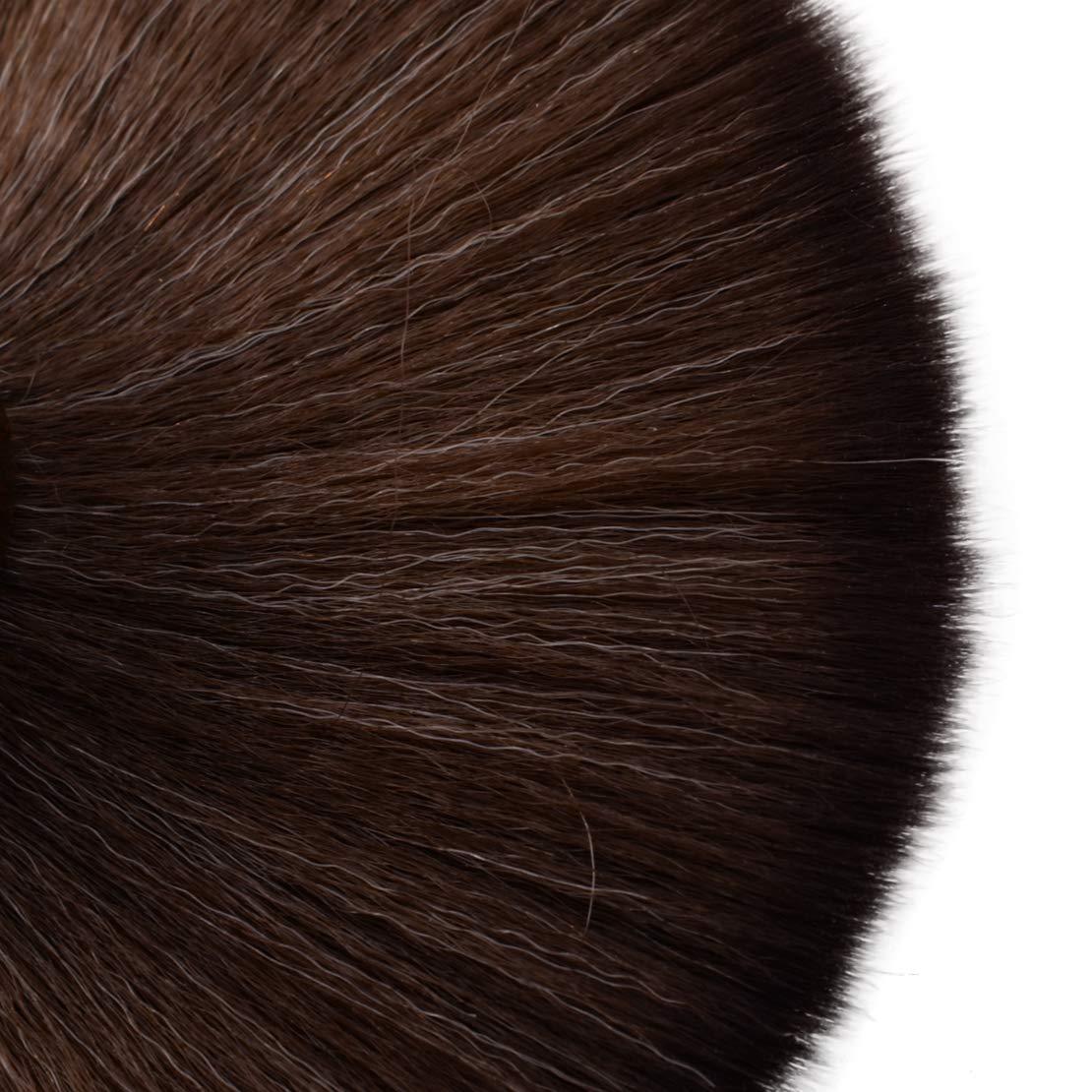 Noir 6.3inch Professionnel LP Disque Vinyle Outil De Nettoyage Anti Statique Manche En Bois /& /Écureuil Cheveux Brosse Stylet Nettoyeur /À Poussi/ère Longueur Totale Approx.16cm