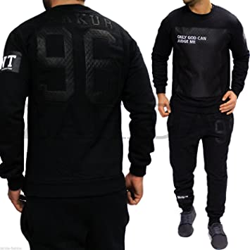 598 – Chándal para hombre Deporte Traje pantalón Fitness Tupac ...