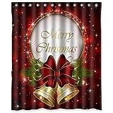 Merry Christmas Custom Fashion Shower Curtain 60 Inch By 72 Inch