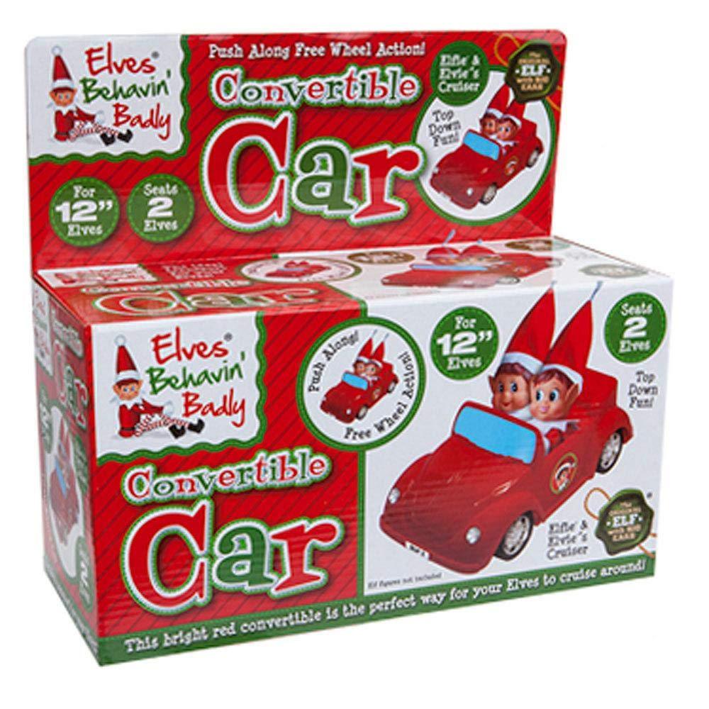 Elves Behavin Badly Elf Convertible Car