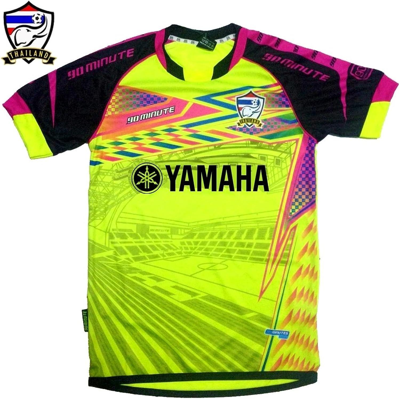 Thailand 90 Minutes Yamaha Neon Yellow Shirt Thailand