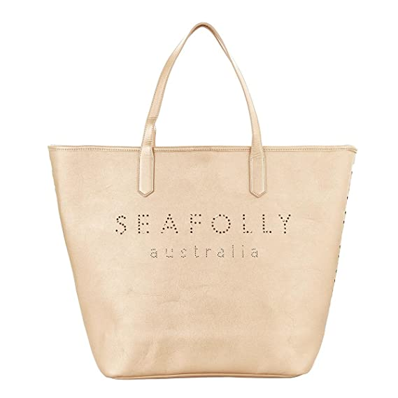 Seafolly Women s Vegan Leather Tote 1a9973b366f36