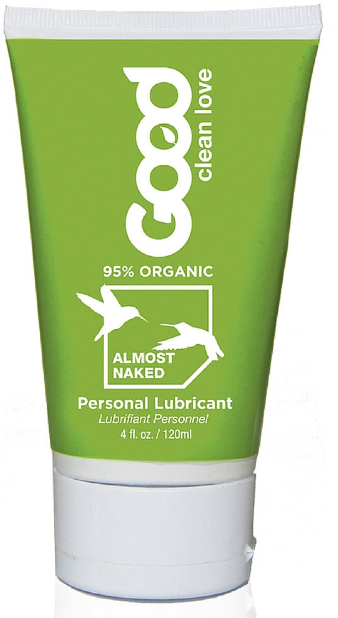 Good Clean Love All Natural Personal Lubricant, Almost Naked 4 oz (Pack of 10)