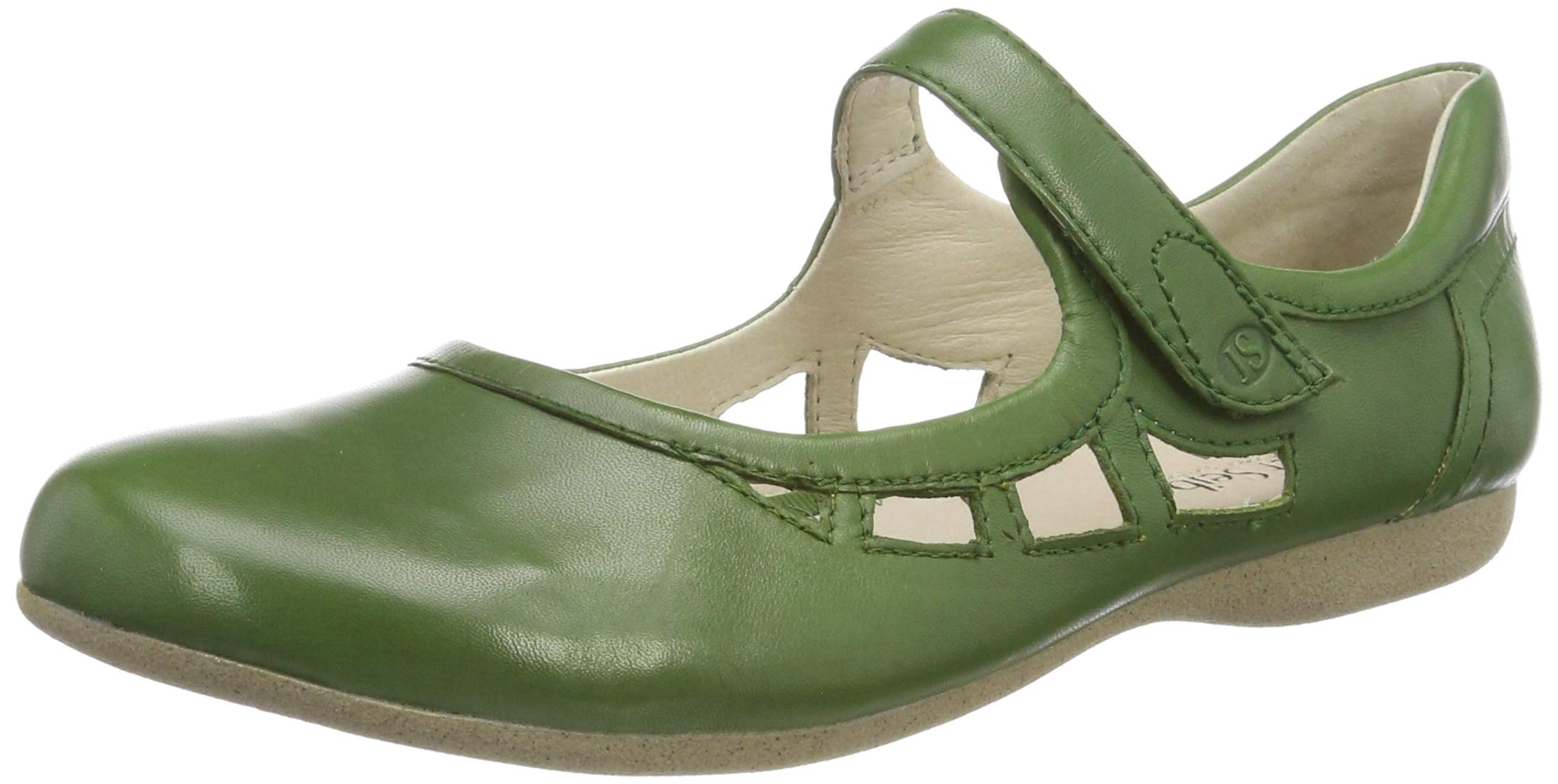 Josef Seibel Women Ballet Flats Fiona 55, Ladies Strappy Ballerinas