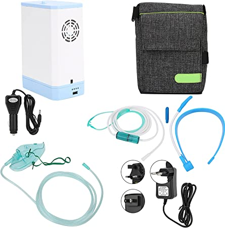 Adjustable 3L Flow Household Oxygen Generator Machine, Portable Oxygen  Concentrator Machine, Multifunction Oxygen Machine Kit for High Altitude  Areas and Field Travel- 110‑240V: Amazon.in: Health & Personal Care