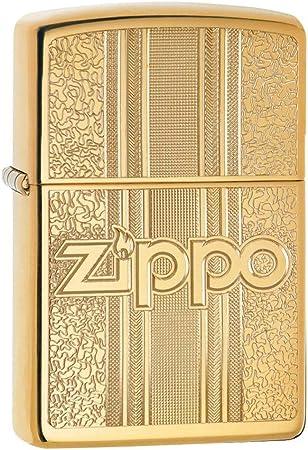 Zippo Logo Design Encendedores: Amazon.es: Deportes y aire libre