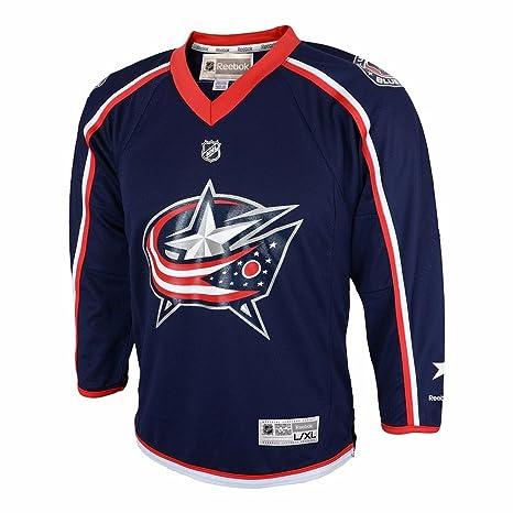 Amazon.com   Columbus Blue Jackets Home Toddler Printed NHL Jersey ... c98efa0b5