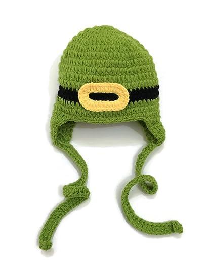 Amazon.com  Rush Dance St Patrick s Day Leprechaun Crochet Beanie ... 554386a25ec