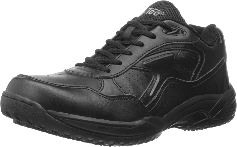 ADTEC Men's White Lace Work Shoe