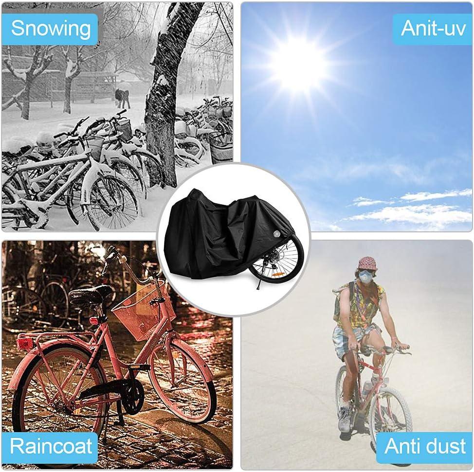 otumixx Funda Bicicleta Exterior Impermeable 210T Funda para ...